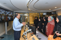 Administrative Science students Visit to Bahrain TV