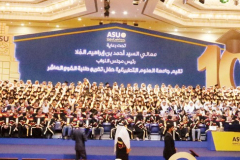 Celeprating the 10th Graduation Ceremony
