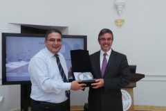 Professor  Paul Ivey visits Applied Science University in Bahrain
