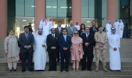 Visit by HE the Pakistani Minister of Health