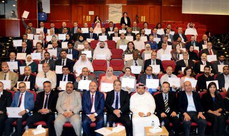 تكريم المشاركين في مؤتمر التعليم الجيد