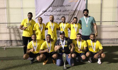 فريق سوات يظفر بلقب دوري الجامعة لكرة القدم