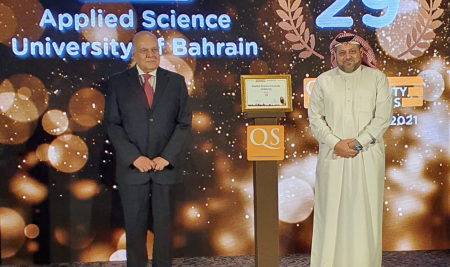 Applied Science University ranked 29thamong best universities in Arab worldand among top 15 in the Gulf